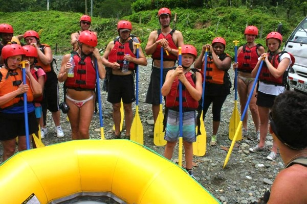 Learning the rules of rafting