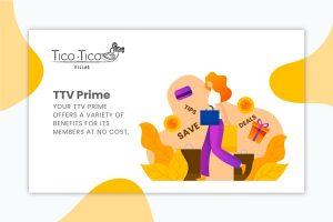 TTV Prime members benefits programme.