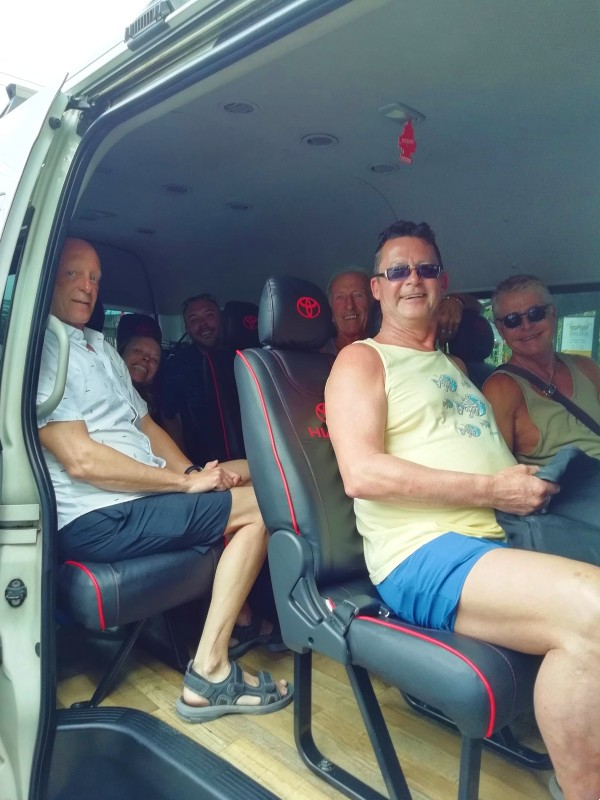 Day Trip activity with guests